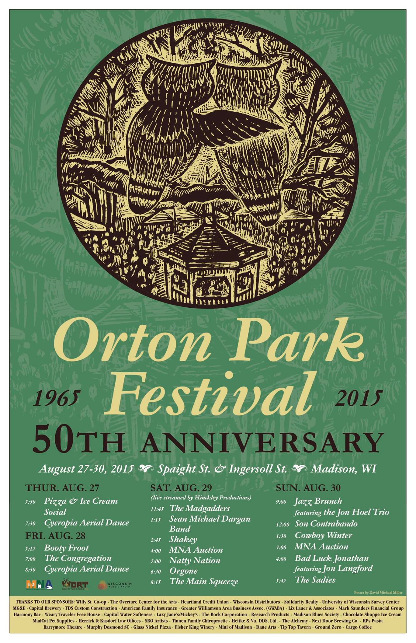 Friday Night At Orton Park Festival >> Orton Park Festival August 22 25 2019 Marquette Neighborhood